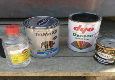 Konteyner Ev Önündeki Paslı Verandayı Boyadık!